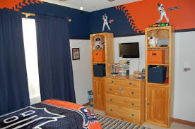 Detroit Tigers Crib Bedding Baseball Wall Paint But Only Make It Yankees Baby Pinterest