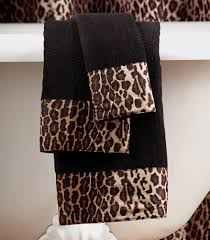 Leopard Print Shower Curtain by Cheetah Print Bathroom Sets