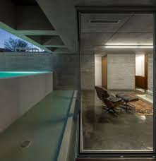 Glass And Concrete House