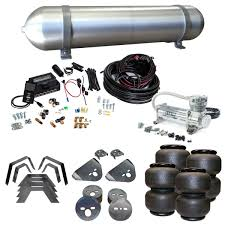 Lifted Dodge Dakota Truck - stage 3 air suspension system with air lift management 87 96