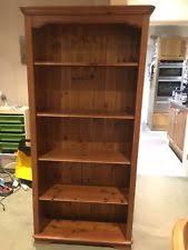 pine bookcase ebay