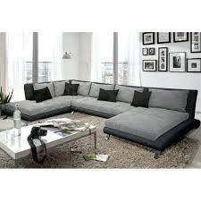canapé en cuir belgique canape cuir en u canapac dangle design cayen gris et noir magasin