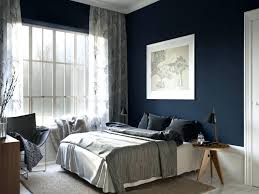 blue painted bedrooms dark blue accent wall hustlepreneur co