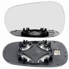 nissan micra left wing mirror left hand passenger side wing door clip on mirror glass for