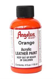 amazon com angelus leather paint 4 oz black