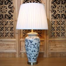 Ceramic Table Lamps For Living Room Online Get Cheap Blue White Chinese Table Lamp Aliexpress Com