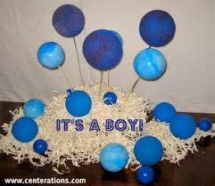 Blue Baby Shower Decorations Blue Centerpieces For Baby Boy Showers That Are Cute Cheap And