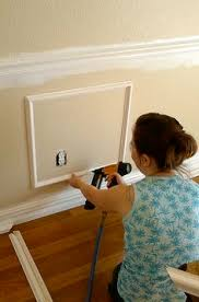 Diy Chair Rail Wainscoting How To Install Chair Rail Chair Rail Molding Moldings And Room