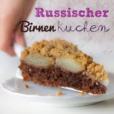 russischer birnenkuchen vegan cake