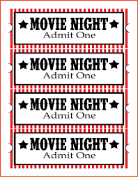 admit one home theater movie ticket template admit one invitations blank jpg