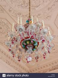 Murano Glass Chandelier Murano Glass Chandelier In18th Century Dumfries House Ayrshire