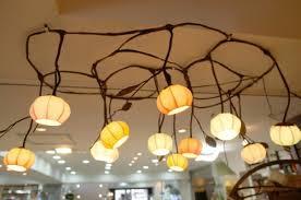 is bud light made with rice mulberry rice paper ball handmade 13 flower bud design light art