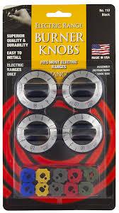 Kitchen Stove Knobs Amazon Com Stanco 4 Pack Universal Gas Range Stove Knobs Black