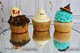 curly kitchen halloween cupcakes