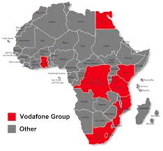 Africa Country Map Vodafone Vodacom Future Growth Prospects