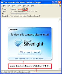 Microsoft Silver Light Malware Spreads As Microsoft Silverlight Content Sent By Facebook