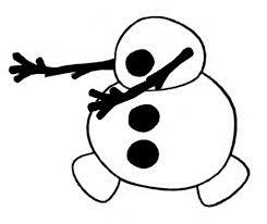 best photos of olaf template printable large olaf template