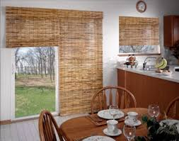 French Door Shades And Blinds - how to cover sliding doors or french doors kitchen curtain