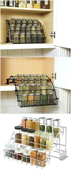 kitchen rack ideas rack stair step spice rack ideas for both roomy and cred