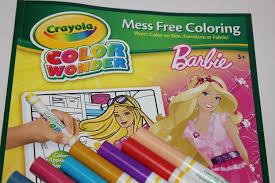 barbie crayola color wonder youtube