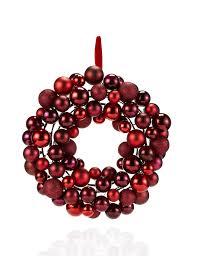 luxury bauble christmas wreath m u0026s