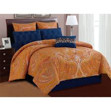 Brown Paisley Rug Bedroom Daphne Blue Paisley Bedding With Rug And Wooden Floor For