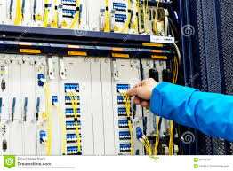 telecommunications equipment in the room stock photo image 83799197