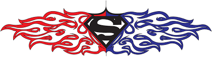 10 stunning superman tribal tattoos only tribal