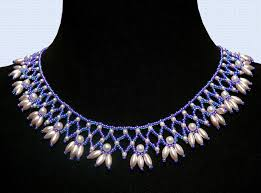 beautiful beads necklace images Free pattern for beautiful beaded necklace esmeralda beads magic jpg