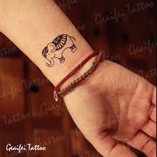 couple temporary tattoos men women small wrist fake transfer