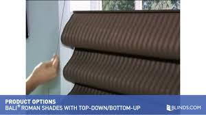 Blackout Roman Shades Kids Bali Roman Shade With Top Down Bottom Up Lift U0026raquo