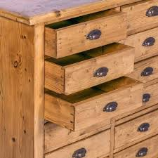 Antique Storage Cabinet Multi Drawer Chest Antique Pine Multi Drawer Sideboard
