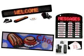 lighted message board signs led message boards programmable led signs