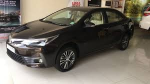 cost of toyota corolla in india 2017 toyota corolla altis facelift india walkaround