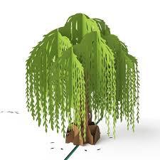 willow tree pop up anniversary card lovepop