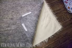 How To Clean A Fluffy Rug How To Make A Diy Faux Fur Rug View Along The Way