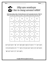 of algebra combining like terms distributive and properties bundle