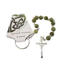 single decade rosary single decade rosary connemara marble lisibach