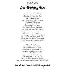 wishing tree sayings wishing poems