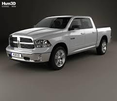 dodge ram 2017 dodge ram 1500 crew cab big horn 2017 3d model hum3d