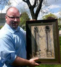 art original masonic print