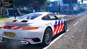 police porsche dutch police porsche 911 s turbo new enb top speed test gta mod