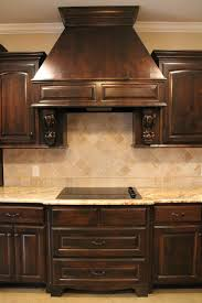 custom kitchen backsplash custom kitchen with stainless steel appliances granite countertop