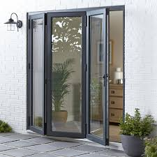 Bifold Patio Doors Folding Patio Doors Bifold External Diy At B Q Regarding Designs