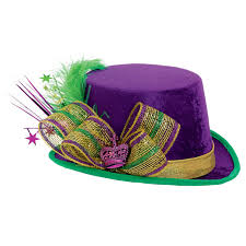 mardi gras hat mardi gras deluxe top hat hat parade mardi gras