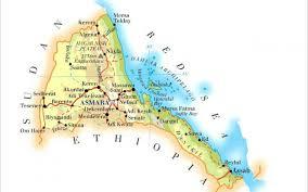 Eritrea Map Eritrea Map Hd Map Imágenes Por Launce11 Imágenes Españoles Imágenes