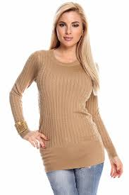 fitted sweater fitted cable knit scoopneck pullover sweater sweaters for