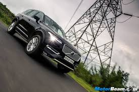 xc90 test drive volvo india local assembly confirmed xc90 first motorbeam