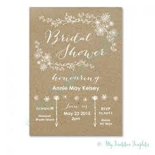 bridal shower invitations wording isura ink