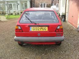 volkswagen hatchback 1990 vw golf mk2 1 6 1990 5 door reliable practical classic in